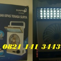 Jual Lampu dan Kipas Emergency Supply Tenaga Surya & Elektrik Murah