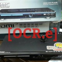 DVD Player GMC HDMI 5.1 Bonus Kabel HDMI
