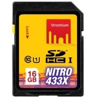 Strontium Nitro 433X SDHC UHS-1 65MB / S Class 10 16GB