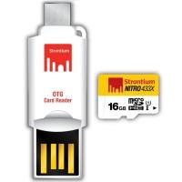 Strontium Nitro 433X MicroSDHC UHS-1 65MB / S Class 10 16GB