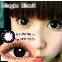 Softlens Geo Magic Black CK-105 14mm