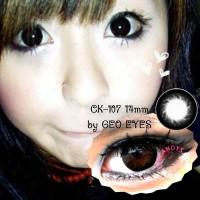 Softlens Geo Magic Black CK-107 14mm
