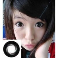 Softlens Geo Super Diva Black (Hitam) 14,8mm