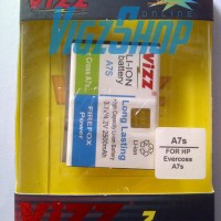 Battery Batre Baterai Batrei Vizz Evercoss A7S 2500mAh Double Power