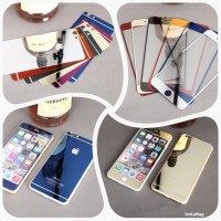 Tempered Glass Color Mirror Iphone 6
