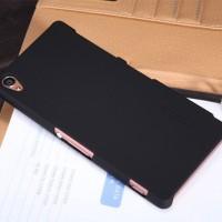 Nillkin frosted case cony xperia z3 L55 tersedia warna hitam Free anti