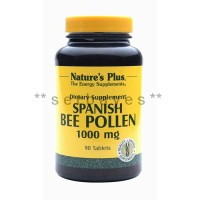 8353A - Suplemen nutrisi vitamin mineral Nature Plus Spanish Bee Pollen isi 90