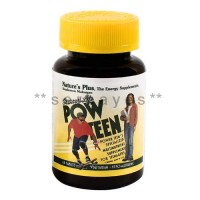 8342A - Suplemen nutrisi vitamin mineral Nature Plus Pow Teen isi 45