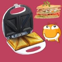 Kenwood Toaster Bread Waffle Sandwich Biscuit Maker Pemanggang Roti