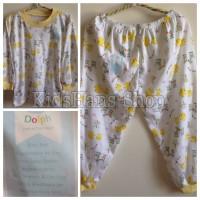 Setelan Piyama / Baju Tidur Anak Lengan + Celana Panjang, Halus