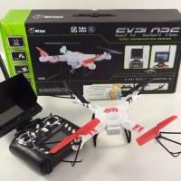 RC quadcopter WL V686 FPV, lihat video live di remote