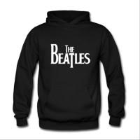 Jual Jaket Sweater Hoodie The Beatles Logo Dengan Bahan Sablon Timbul Kaos Murah