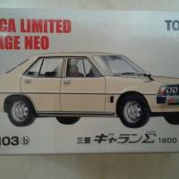 Lv N103b Mitsubishi Galant 1600GL beige TLV Tomica Limited Vintage Neo