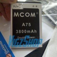 Baterai Battery Batre Mito A75 Fantasy 2 3800mAh MCOM Double Power