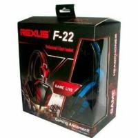 harga Headsead Gaming / Headset Rexus F-22 Tokopedia.com