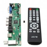 Universal LCD Controller TV Motherboard VGA / HDMI / AV / TV / USB