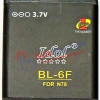 Baterai Idol Nokia BL-6F N78 / N79 / N95 8G