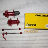 harga Termurah! Hub Freehub Bearing Shimano Speed 36h Red Anodized Tokopedia.com