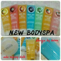 NEW PACK BODY SHOP SPA / BODYSHOP / BODYSPA UK 400ML(LEBIH BESAR)