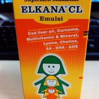 ELKANA CL EMULSION 60 ML(PENAMBAH NAFSU MAKAN & MULTIVITAMIN ANAK)