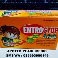 ENTROSTOP ANAK CAIR SACHET (OBAT DIARE ALAMI ANAK)