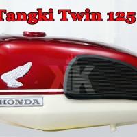 harga Tangki Twin 125 Motif Merah Putih Tokopedia.com