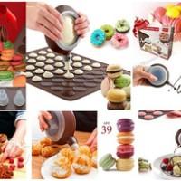 alat pencetak kue macarons cake pancake decoration food maker set