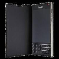 Passport Leather Flip Case - Black- Cover-Casing BlackBerry Passport O