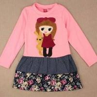 Tee HZ House 520711 Girl Flo Pink