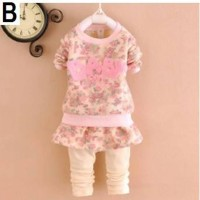 2pc Pink baby 1615