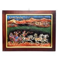 harga Lukisan Rilief 3d Timbul Wayang Karno Tanding 44x33cm Tokopedia.com