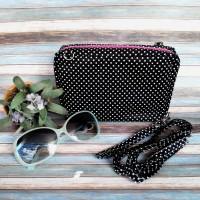 Jual Wallet Bag Polka Black Murah