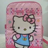 Jual Tas ransel SD kanvas Hello Kitty Murah