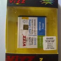 Battery Sony Ericsson Xperia Ray BA900 Merk VIZZ 2900mAh