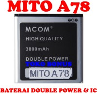 Baterai Mito A78 Double Power M Com