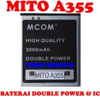 Baterai Mito A355 Double Power M COM