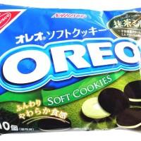 NABISCO OREO GREEN TEA SOFT COOKIES 142 Gram