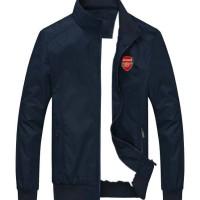 harga Jaket Sportwear Arsenal Blue Tokopedia.com