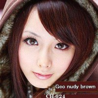 Softlens Geo Nudy Brown (Coklat)