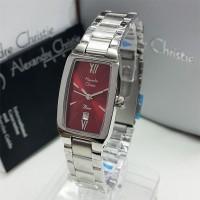 Alexander Cristie 2455 Silver Red Dia