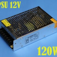12V 120W LED Power Supply 10A IN:220V OUT:12V Non WaterProof