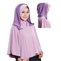 Jilbab Hoodie Syar'i Violet GRO 531
