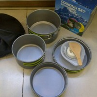COOKING SET/ALAT MASAK KEMPING