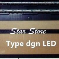 Tempat / Dudukan / Bracket Plat Nomor Mobil Terbaru 46cm Acrylic + LED
