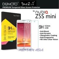 Tempered Glass SP for ZTE NUBIA Z5S Mini: SHEZI Premium TG 0.2mm, 2.5D