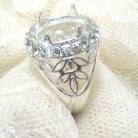 harga Silver Ring Frame - Emban Cangkang Batu Cincin Bahan Perak China Asli Tokopedia.com