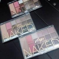 Naked Visage (12 Eyeshadow + 2 Blusher + Powder)