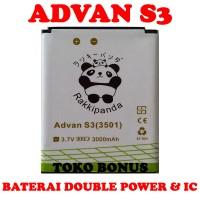 Baterai Advan S3 Double Power Rakki Panda