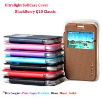 harga Flip Cover BlackBerry Q20 Classic / Ultralight Softcase Cover BB Q20 Tokopedia.com