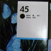 Original Cartrdige - HP - HP 45 Black